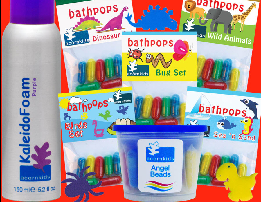 WIN a hamper of FUN Acornkids bath products! We are #1 in Fun Early Learning!