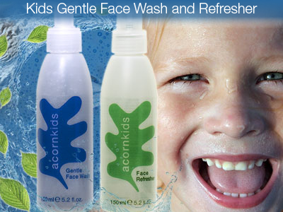 [Pinned] Staying fresh with the Acornkids Gentle Face Wash and Face Refresher.
