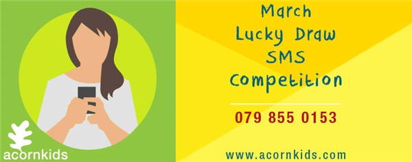 SMS Acornkids Lucky Draw Competition