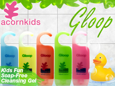 Allover fun and top-to-toe washing with Gloop…