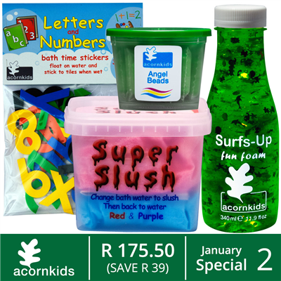 Acornkids Up for Grabs Lucky Draw Competition (25/01 - 01/02)